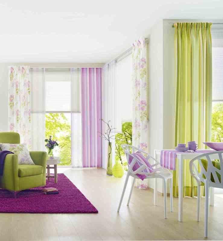 exklusive gardinen verschiedene stoffe designs und farben. Black Bedroom Furniture Sets. Home Design Ideas