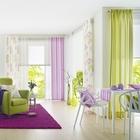 Gardinen in frischen Farben