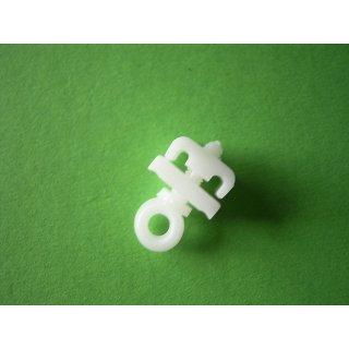 Feststeller U-Schiene Plastik einzeln oder im 100er Beutel