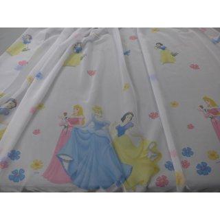 Schlaufenschal Disney Princess weiß 145 x 245cm