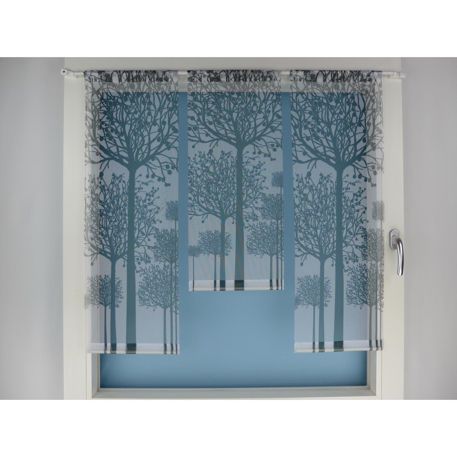 minifl chen set wei schwarz mit b ume. Black Bedroom Furniture Sets. Home Design Ideas