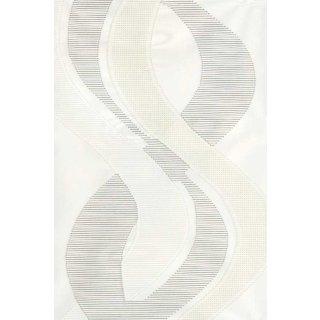Schiebevorhang DORADO weiß-grau