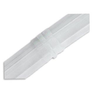 Faltenband für Gardinen transparent 1:2,5  3er Falte per Meter