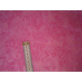 Patchworkstoff pink meliert