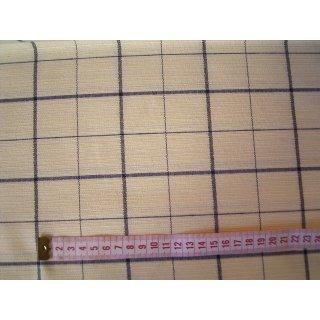 Gardinen Deko Kissen Stoff gelb blau kariert 280cm breit