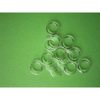 Plastik Ring transparent 13x18mm