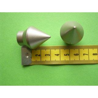 System Ø 12mm Kunststoff Endkopf edelstahl optik